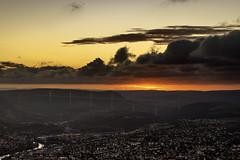 Sunset Millau (benitoorion) Tags: millau aveyron sunset viaduct viaduc viaducdemillau landscape cloudscape occitanie france midipyrénées