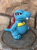 totodile amigurumi (wagsdot911) Tags: pokemongo totodile amigurumi crochet