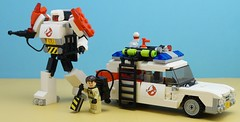 Autobot Specter (Hobbestimus) Tags: lego moc 80s toys ghostbusters ecto1 raystanz movies cartoon transformers