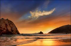 La stella dentro (Gio_guarda_le_stelle) Tags: amico friend california sunset homeless barbone usa pfeiffer bigsur beach water shoreline wonderland pfeifferbeach westcoast
