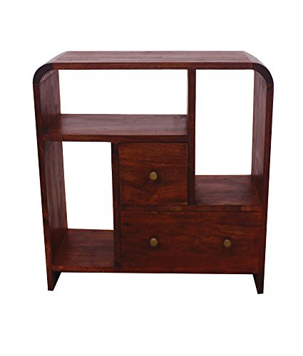 NES Furniture Nes Fine Handcrafted Furniture Solid Teak Wood Maria Display Case – 28″ For Sale