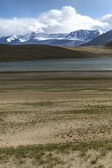 Tsomoriri #1 (jean matthieu) Tags: blue canon clood cloods color eos himalaya india indiantibet ladakh lake landscape light montain montains sky tsomoriri