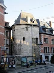 Tour Marie Spilar, Rue de la Tour, Namur, Belgium (Paul McClure DC) Tags: belgium belgique wallonie wallonia feb2018 namur namen ardennes historic architecture