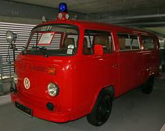 Fire Bulli (Schwanzus_Longus) Tags: bremen german germany old classic vintage vehicle bus window van fire department feuerwehr fighting volkswagen vw bulli bully t2 transporter
