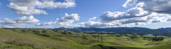 vallecitos crest panorama (pbo31) Tags: bayarea california nikon d810 color over blue february 2019 winter boury pbo31 outdoors sky alamedacounty green snow capped country clouds hills livermore eastbay wine farm panorama view stitched large panoramic