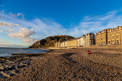 Lonely beach of splendor (purrnuu) Tags: aberystwyth wales unitedkingdom gb