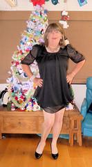 gorgeouse dress (Trixy Deans) Tags: crossdresser cute cd crossdressing classy cocktaildress classic corset crossdreeser xdresser sexy sexyheels sexytransvestite sexylegs shemale shortdress frilly frills hot heels highheels legs