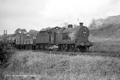12/10/1963 - Hellifield, West Riding of (now North) Yorkshire. (53A Models) Tags: britishrailways lms fowler 4f 060 44238 steam freight hellifield westyorkshire train railway locomotive railroad