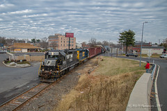 NS EMD GP38-2 #5310 @ Morrisville, PA (Darryl Rule's Photography) Tags: 2018 aestaley buckscounty cpdq csx csxt clouds cloudy conrail conrailsharedassets dq dairyqueen delmorrave diesel diesels emd gp402 mor1 morrisville ns norfolksouthern oldline prr pennsy pennsylvania pennsylvaniaave railroad railroads staley staleylocal streetrunning tollbrothers train trains winter ypmor1