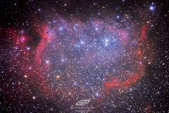 The soul nebula (ic 1848) from Àger, Lleida, Canon eos 600D modified and cooled, Skywatcher newton 150/750 pds, Baader mpcc coma corrector, Neq6 pro2 rowan belts (gerardtartalo) Tags: sky nightsky skywatcher starphotography astrophotography astrofotografia astronomy astronomia cosmos universe universo nebula space deepspace astrometrydotnet:id=nova3144465 astrometrydotnet:status=solved