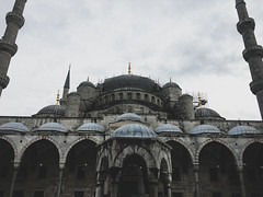 Blue Mosque Facade (Ketan Pandit) Tags: culture asia travel shoots photography iphone architecture history canon europe turkey istanbul cats palace sultan bosporous tourist pandits istiklal