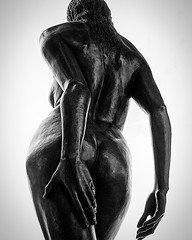 Artistic body 03 (Marcel van Hoof) Tags: sexy erotic woman bw blackandwhite design art statue naked
