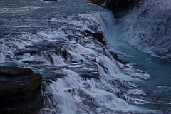 Gullfoss ( Explored ) (José Rambaud) Tags: gullfoss cataratas water waterfall waterscape ice icy frost frosty island islandia iceland winter