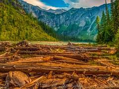 Hiking Glacier National Park (The Happy Traveller) Tags: westglacier montana unitedstates us glaciernationalpark usnationalparks sceniclandscapes lake