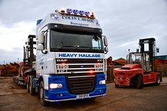 Colin Lawson Transport DAF XF - Aberdeen Harbour Scotland - 10/01/2019 (DanoAberdeen) Tags: 105510 heavyhaulage transporter daf105 trucks daf scania tcab danoaberdeen 2019 aberdeen transport haulage xf dafxf sv11dfd colinlawson colinlawsontransport stgo scotland harbour candid amateur truck truckers truckfest lorry trailer digger driver driving motorway v12 v8 diesel daftrucks