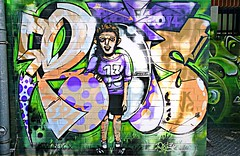 Berlin 2018.06.07. Mural 138.13 - FC Kreuzberg - 2014 (Rainer Pidun) Tags: mural streetart urbanart publicart berlin