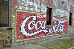 Texas, Mineral Wells, Coca Cola (EC Leatherberry) Tags: wall advertisement softdrink soda texas mineralwellstexas cocacola