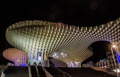 Las Setas De Sevilla (LauraStudarus) Tags: sevilla setas spain nightphotography landmark seville