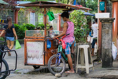 Andy's Chicken Joy (Beegee49) Tags: street food cart man cooking joy chicken school sony a6000 luminar happy planet silay city philippines asia happyplanet asiafavorites
