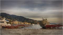 oggi , il porto di Rapallo   ... ( 2 ) (miriam ulivi) Tags: miriamulivi nikond7200 italia liguria rapallo porto harbor yacht afterthestorm october30 2018