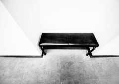 BenchMark.jpg (Klaus Ressmann) Tags: klaus ressmann omd em1 abstract fparis france interior winter bench blackandwhite contrast design flcabsoth minimal klausressmann omdem1