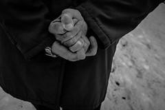 = (kirilt0) Tags: streetphoto streetphotography 35mm hands shadow blackandwhite russiastreet russia