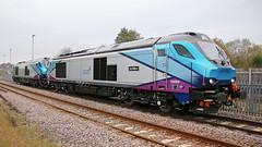 T.P.E 68030 & ACHILLES 68023 (P.J.S. PHOTOGRAPHY) Tags: 68030 achilles 68023 passing malton east crossing driver training york to scarborough shuttle tpe liver