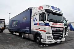 DSC_0003 (richellis1978) Tags: truck lorry cannock haulage transport logistics daf xf 106 wedzikowski pl poland wgm34778