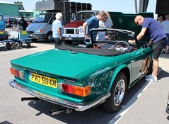 PVO 984M (Nivek.Old.Gold) Tags: 1973 triumph tr6 injection 2498cc charles windsor eama