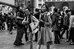 One Good Reason, That's All I Need (burnt dirt) Tags: asian japan tokyo shibuya station streetphotography documentary candid portrait fujifilm xt1 bw blackandwhite laugh smile cute sexy latina young girl woman japanese korean thai dress skirt shorts jeans jacket leather pants boots heels stilettos bra stockings tights yogapants leggings couple lovers friends longhair shorthair ponytail cellphone glasses sunglasses blonde brunette redhead tattoo model train bus busstation metro city town downtown sidewalk pretty beautiful selfie fashion pregnant sweater people person costume cosplay boobs