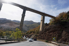 Balkans Roadtrip (tamasmatusik) Tags: balkan balkans roadtrip november albania autumn mountain bridge viaduct sony a6000 16mm milc road landscape light