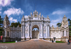 Dolmabahce Palace (MNmagic) Tags: sony a6500 palace turkish turkey istanbul travel trip gate architecture architect dolmabahçe dolmabahce