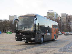 "MAN RHC464 Lion`s Coach, ""Płomiński Travel"", Gomunice (transport131) Tags: bus autobus man rhc464 lions coach płomiński travel gomunice"