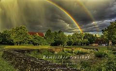 Römischer Gutshof (Fotomanufaktur.lb) Tags: ludwigsburg hoheneck gutshof schölkopf schoelkopf canon regenbogen rainbow roman