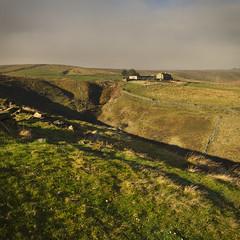Hades Farm? from Manor House Farm fields Brown Hill Pule Marsden (kyliepics) Tags: olympus e520 evolt520 olympuszuikodigital1122mmf2835 darktable
