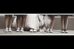Shoe Love is True Love (Andy Orozco ~) Tags: shoes converse allstars chucktaylor wedding shoe dress women ladies reception magical