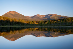 Tranquility (Kittenmittons23) Tags: baxter state park maine katahdin mount mountain sunrise pond reflection