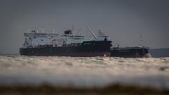 Sea Level (MBDGE >1.5 Million Views) Tags: orkney sts shiptoship transfer oil crude offshore tanker vlcc sea scapaflow low depthoffield dof canon70d canon scotland alba maritime hull sun sky ship boat vessel sealevel