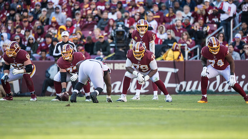 Smith Behind the Offensive Line