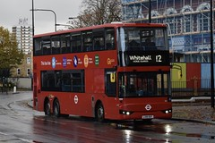 Go-Ahead London subsidiary London Central BCI Enterprise 2HD (TA1 - LX18 DGF) 12 (London Bus Breh) Tags: goahead goaheadgroup goaheadlondon londoncentral bci bcienterprise2hd vantagepower hybrid hybridbus hybridtechnology ta1 lx18dgf 18reg london buses londonbuses bus londonbusesroute12 route12 peckham peckhamroad tfl transportforlondon