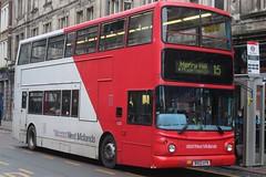 National Express West Midlands Dennis Trident 2/Alexander ALX400 4323 (BX02 ATK) (Wolverhampton) (john-s-91) Tags: nationalexpresswestmidlands dennistrident2 alexanderalx400 4323 bx02atk wolverhampton wolverhamptonroute15