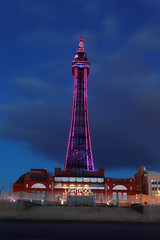STANDING TALL (skysthelimit333) Tags: blackpool blackpoollancashire lancashire tower blackpooltower lights