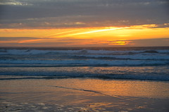 DSC_0468 (afagen) Tags: california pacificgrove asilomarstatebeach montereypeninsula asilomar beach pacificocean ocean sunset dusk orange