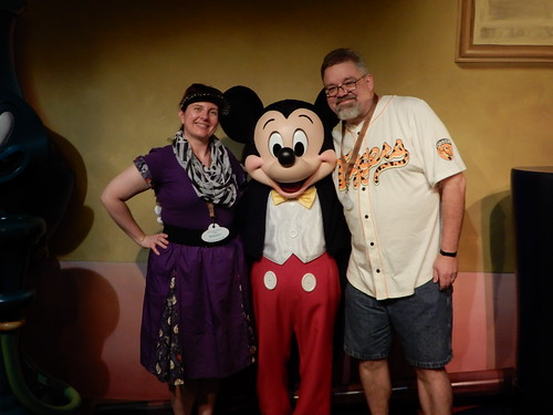 "Tracey and Scott with Mickey Mouse • <a style=""font-size:0.8em;"" href=""http://www.flickr.com/photos/28558260@N04/32176229768/"" target=""_blank"">View on Flickr</a>"