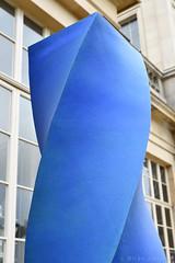 Energy Sculpture (Bri_J) Tags: chatsworthhousegardens bakewell derbyshire uk chatsworthhouse gardens chatsworth statelyhome nikon d7500 energy sculpture blue column alexandermacdonaldbuchanan