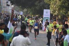 Vasai-Virar Full Marathon Winner 2018 - People waiting for 1st prize winner