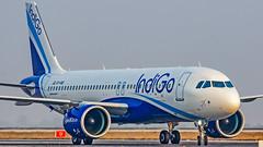 Indigo Airbus A320NEO VT-IVD Bangalore (BLR/VOBL) (Aiel) Tags: indigo airbus a320 a320neo vtivd bangalore bengaluru canon60d tamron70300vc