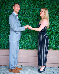 Dovah Wedding Portraits  (41) (ArdieBeaPhotography) Tags: portrait men women family fun photobooth wedding party fake ivy wall fairy lights cousins friends tamronspaf2875mmf28xrdildasphericalif