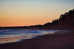 Lonely surfer (mgschiavon) Tags: beach sea california sunset nature outdoors