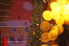 Winter lights (Teruhide Tomori) Tags: night light winter japan japon kyoto kyotostation 京都駅 日本 冬 ライト christmas クリスマス